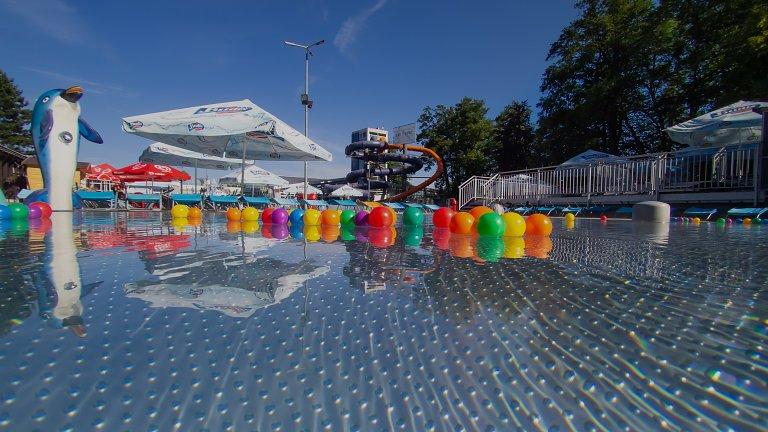 Detský vonkajší bazén